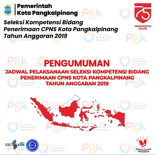 Infografis Pengumuman Jadwal SKB 1